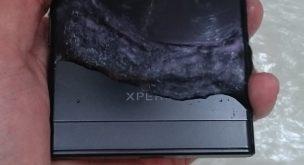 Xperia XZを水洗い1