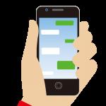 iPhone7でLINEの特定の相手のトークルームをウィジェットから開く方法