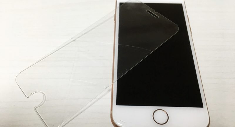 割れたガラスフィルムが剥がれない!iPhoneを傷つけない剥がし方は?