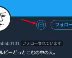TwitterのDMアイコン(メールマーク)が表示されない2つの原因